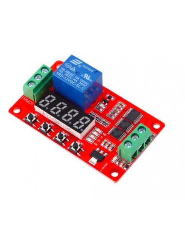 12V Programmable PLC Delay Time Switch Relay Module