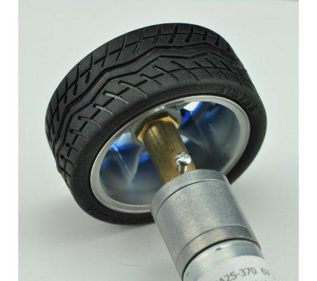 Wheel - Motor Adapter Long - Ø6mm Hole (2 Pack) | Hub's |