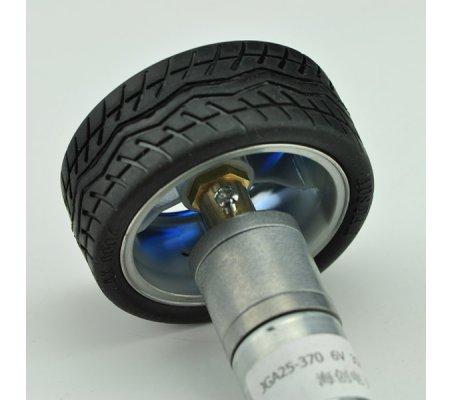 Wheel - Motor Adapter - Ø4mm Hole (2 Pack)   Hub's  