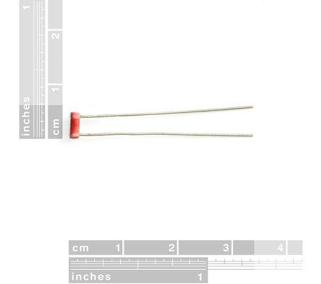 GL5528 LDR - Light Controlled Resistor | Sensores Ópticos |