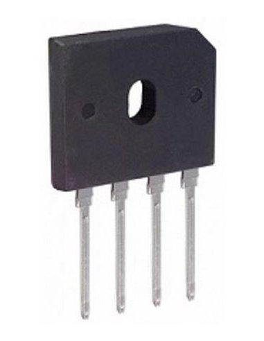 Bridge Rectifier Diode, Single, 1 kV, 10 A, SIP, 1 V, 4 Pins