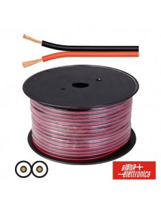 Speaker Wire - Red and Black 2 x 0,75 mm² 1mt