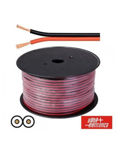 Speaker Wire - Vermelho and Black 2 x 0,75 mm² 1mt   Fio electrico  