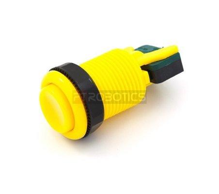 Concave Button - Amarelo | Arcade |