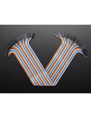 Premium Female/Female Jumper Wires 300mm - Pack of 40 | Jumper Wires |