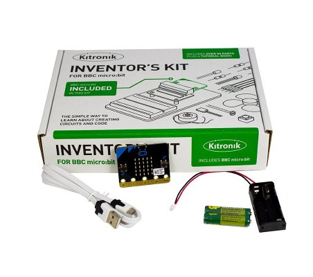 BBC micro:bit Inventor's Kit com Acessórios   Micro:Bit  