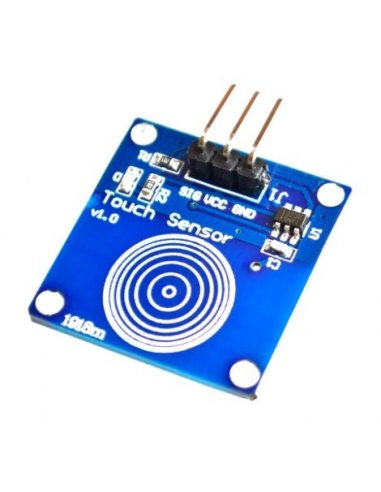 TTP223B Digital Touch Sensor Capacitive Touch Switch Module | Botões e Teclados |