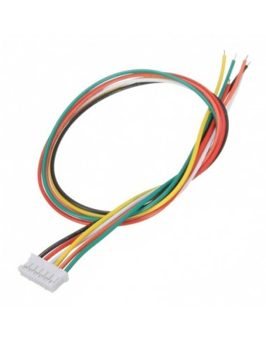 JST XHP Jumper Assembly 30cm - 6 Wires | Assemblados |