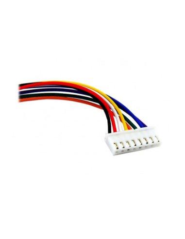 JST XHP Jumper Assembly 30cm - 8 Wires | Assemblados |