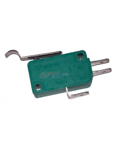 Microswitch 10A Lever w/ Roller simulation   MicroSwitch  