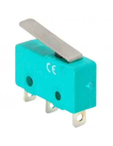 Microswitch 5A Normal Lever Verde