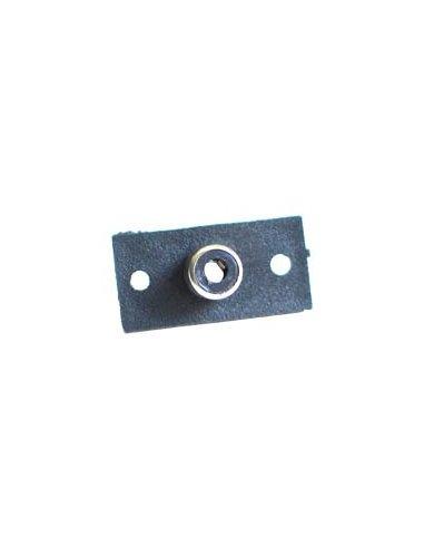 Insulated Panel Mount RCA Sockets - 1Way   Fichas Audio  