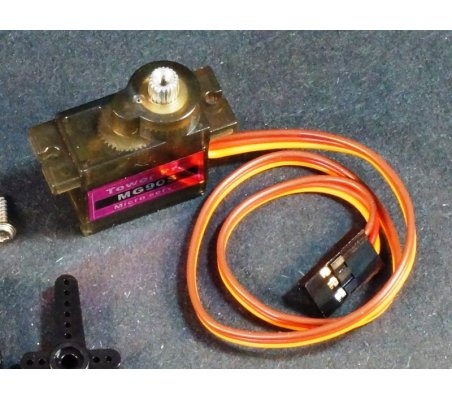Tower Pro MG90S 360degrees | Servomotor |