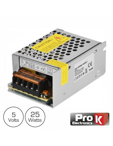 Industrial Power Supply 5V 25W 5A