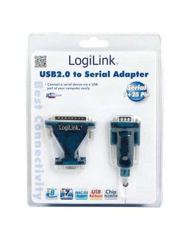 LogiLink® USB 2.0 to Serial Adapter 9+25 Pin   Cabos de Dados   Cabo HDMI   Cabo USB  
