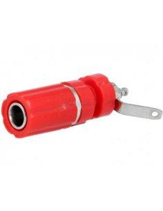 Banana Socket 4mm Red