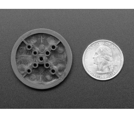 TT Motor Pulley - 36mm Diameter   Hub's e Suportes  