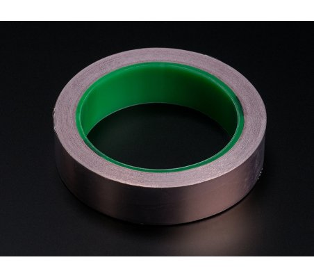 Copper Foil Tape with Conductive Adhesive - 25mm x 15 meter roll