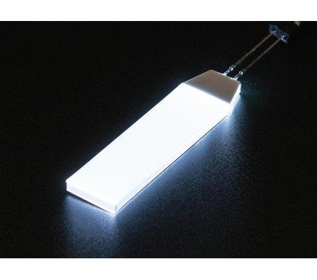 Branco LED Backlight Module - Small 12mm x 40mm | Varios |