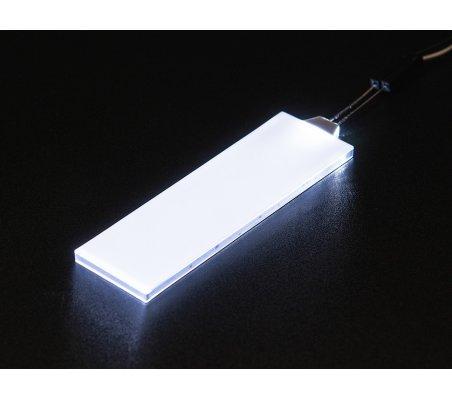 Branco LED Backlight Module - Medium 23mm x 75mm