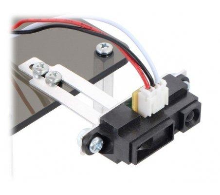 Bracket Pair for Sharp GP2Y0A02, GP2Y0A21, and GP2Y0A41 Distance Sensors - Multi-Option