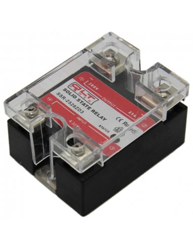 Solid State Relay SSR-2528ZD1 280V 25A Control  4-16V | Relés |