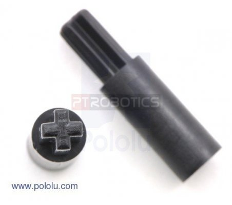 3mm Hexagonal Shaft Adapter for LEGO Wheels - Par | Hub's |