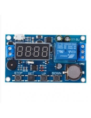 Trigger Cycle Timer Delay Switch 5-30V Relay Switch Module 24h Timing Control