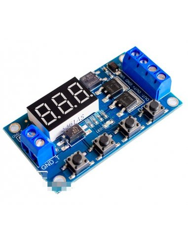 Trigger Cycle Timer Delay Switch Circuit Board Mos Tube Control Module 12-24V