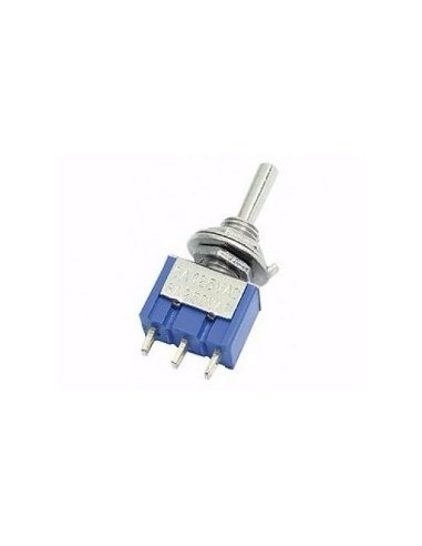 Toggle Switch SPST ON-OFF-ON PCB 250V 3A