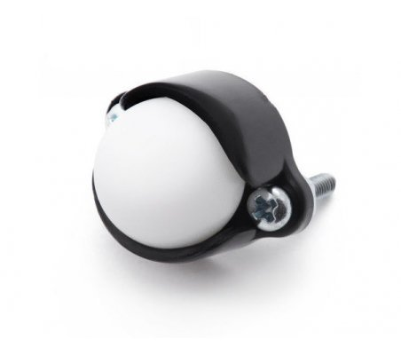 Pololu Ball Caster with 1/2″ Plastic Ball | Casters |