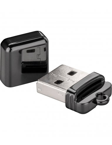 Micro SD Card Reader USB 2.0 - Black