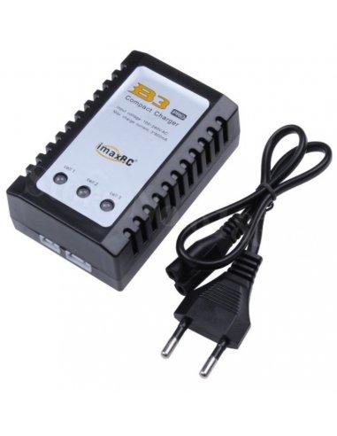 ImaxRC B3 Pro Compact LiPo Charger for 2S 3S 7.4V 11.1V w/ EU Adapter (110-240VAC)