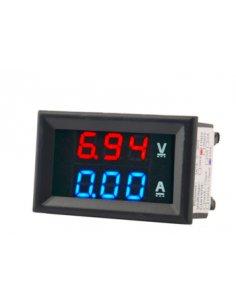 Voltmeter Ammeter Amp Dual Digital 100V 10A Blue and Red LED