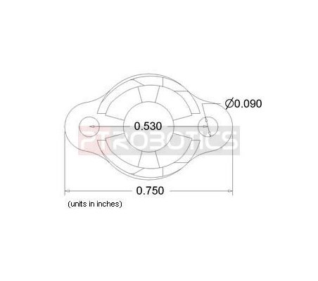 Ball Caster Plastic - 3/8 | Casters |