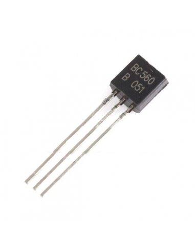 BC560 - PNP Bipolar Transistor 45V 100mA | Transistores |
