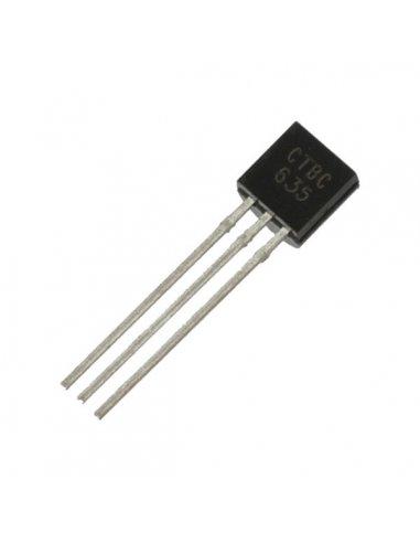 BC635 - NPN Bipolar Transistor 45V 1A | Transistores |