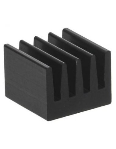 Heatsink for DIL-IC, PLCC and SMD 74K/W 8x8x6mm | Dissipadores |