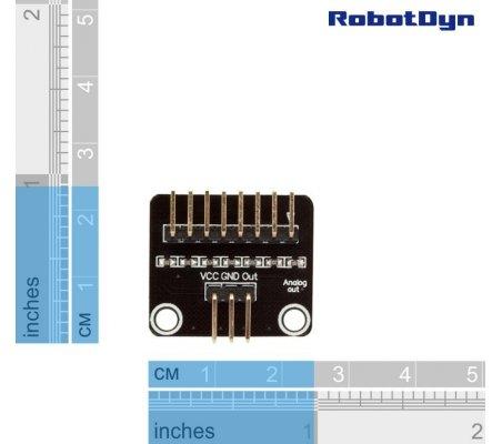 Analog-out adaptor for Matrix Membrane Keypad | Botões e Teclados |