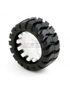 Wheel 42x19mm Pair