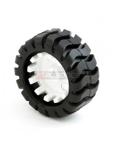 Wheel 42x19mm Pair | Rodas para Robôs |