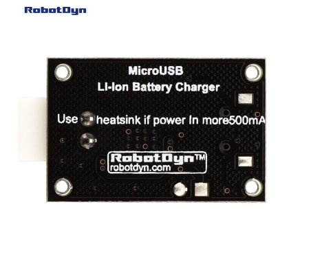 MicroUSB Li-Ion Battery Charger