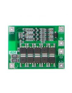 18650 Lithium Battery BMS Protection Board 3S 11.1V 12.6V 40A