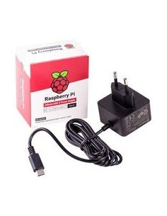 Raspberry Pi USB C Power Supply 5.1V 3A - Black