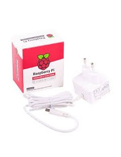 Raspberry Pi USB C Power Supply 5.1V 3A - White