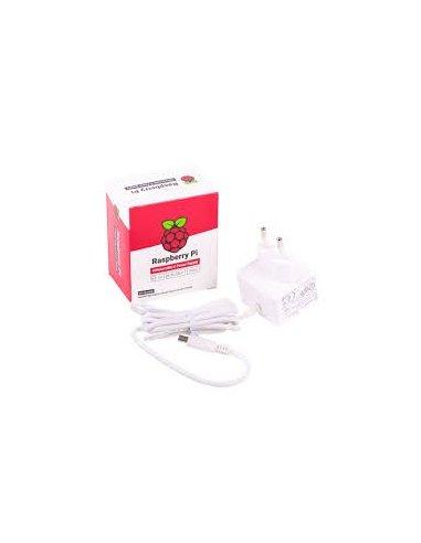 Raspberry Pi USB C Power Supply 5.1V 3A - White