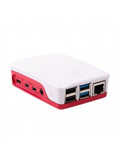 Raspberry Pi 4 Model B Official Red & White Case