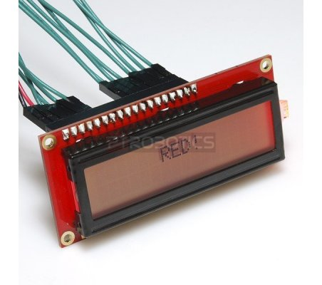Basic 16x2 Character LCD - RGB Backlight 5V