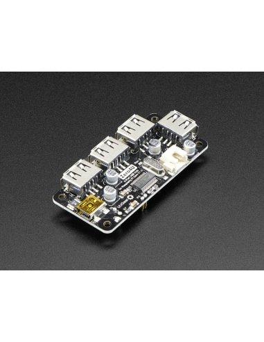 Zero4U - 4 Port USB Hub for Raspberry Pi Zero v1.3 | Varios - Raspberry Pi |