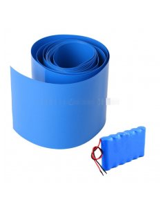 Lithium Battery Heat House Shrink Tube 110mm for 14500, 18650 and 26650 Batteries - 50cm